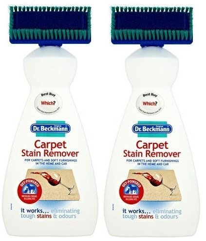 2 x Dr Beckmann Carpet Cleaner Brush 650ml, Cleaning, Upholstery, Stain Remover Dr.Beckmann B01D00IIJQ