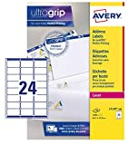 avery-l 7159-100 Address Labels QuickPeel Recycled FSC Green X White