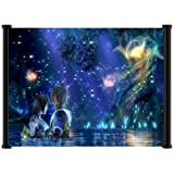 """Final Fantasy X Game Fabric Wall Scroll Poster (25""""x16"""") Inches"""