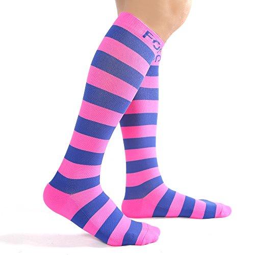 Compression Socks Women Athletic Socks 20-30 mmHg For Nurse,Pregnant,Cycling,Running,Flight Travel Stockings