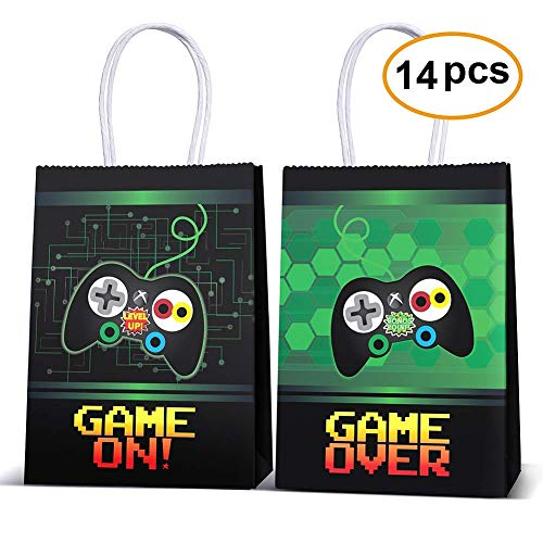 Video Game Party Supplies Favors,Gaming Party Bags For Video Game Birthday Party Supplies Decorations,kids Gamer Party Supplies Decorations Set Of -
