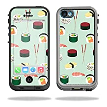 Skin For LifeProof iPhone 5C Fre Case – Sushi | MightySkins Protective, Durable, and Unique Vinyl Decal wrap cover | Easy To Apply, Remove, and Change Styles | Made in the USA