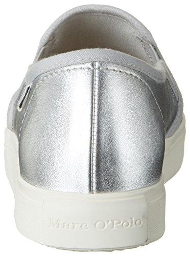 Marc O'Polo 70213943502110 Sneaker - Zapatillas Mujer plateado (silver)
