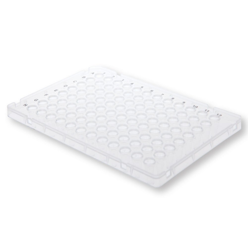 96-Well ''Fast''-type PCR Plate, Low Profile, White, 10 Plates/Unit