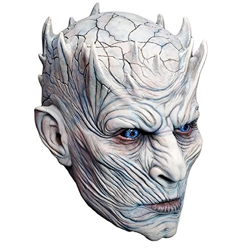 (Trick or Treat Studios Men's Game of Thrones-Night's King, White Walker Men's Full Head Mask, Multi, One Size)