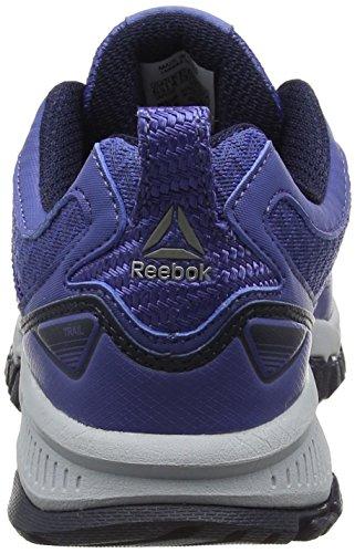 collegiate black lilac 2 Femme Navy Grey Chaussures Trail cloud pewter Bleu Ridgerider 0 Reebok Shadow pw6Fxqpz