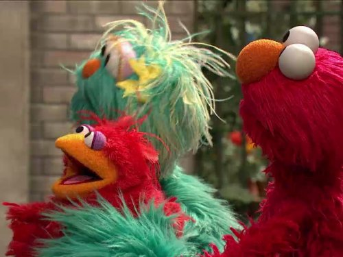 Elmo Finds A Baby Bird. Episode 4195