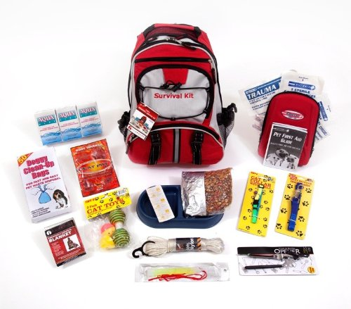 Guardian Survival Deluxe Pet Emergency Kit, - Kit Survival Pet