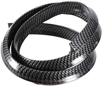 Vobor Auto Radlauf Augenbrauen Protector Carbon Fender Flares Auto Radlauf Augenbrauen Schützen Anti Scratch Pad Auto
