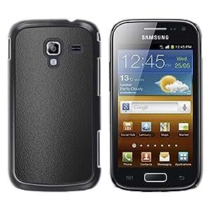 Paccase / SLIM PC / Aliminium Casa Carcasa Funda Case Cover - Gray texture - Samsung Galaxy Ace 2 I8160 Ace II X S7560M