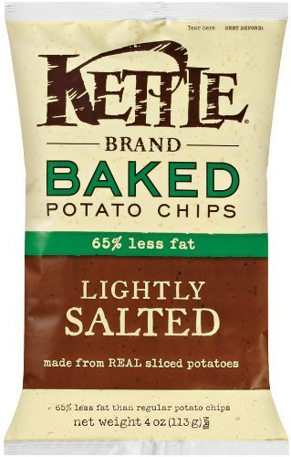 KETTLE FOODS CHIP PTO REAL SEASLT, 4 OZ by Kettle Brand
