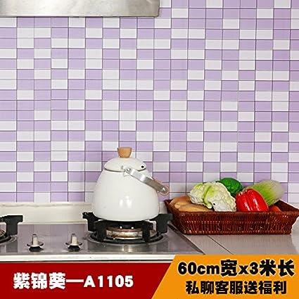 Mobile da cucina con fornelli a muro olio adesivi resistenti al fumo ...