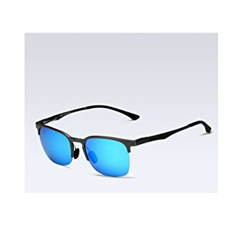 a1f54f1fbb Amazon.com   VEITHDIA Unisex Sunglasses Polarized Retro Aluminum Magnesium  fishing hunting clubmaster Lens Vintage Eyewear Accessories Sun Glasses  Men Women ...