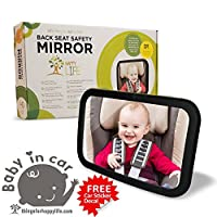 Blowout Price +BONUS GIFTS Baby Car Mirror | Rear Facing | Up to 40% Larger t...