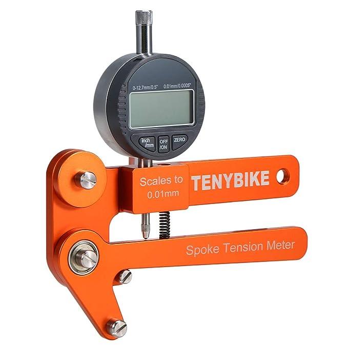 Electronic Spoke Tension Meter Bicycle Wheel correction Builders Tool