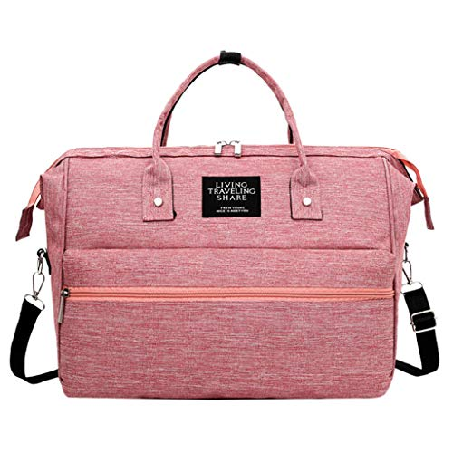 Londony ✡ Diaper Bag Backpack, Multi-Function Waterproof Maternity Nappy Bags for Travel with Baby,Large Capacity Pink