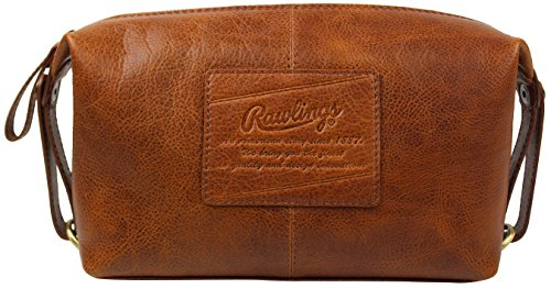 Rawlings Men's Leather Travel Kit, Brown by Rawlings