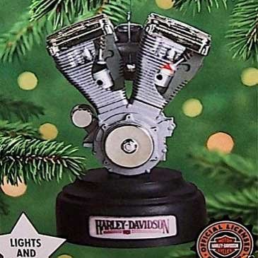 Hallmark Keepsake Ornament Big Twin Evolution Engine Harley-Davidson Motorcycles (Evo Piston Twin)