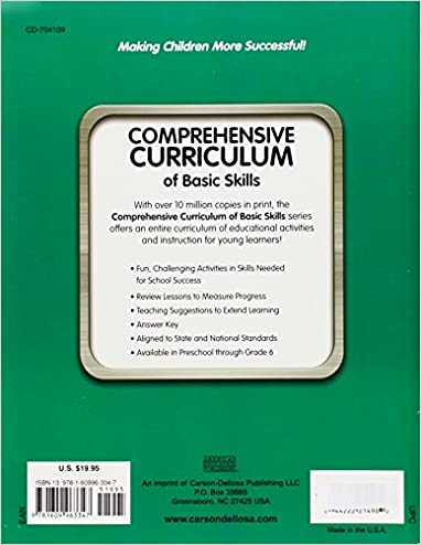 Comprehensive Curriculum of Basic Skills, Grade 5: American ...