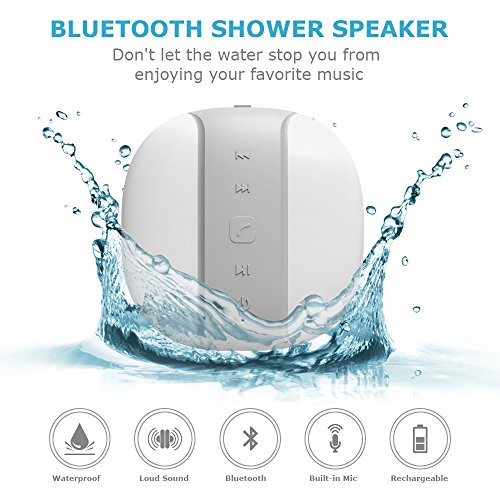 Voads Bluetooth Waterproof Compatible Built