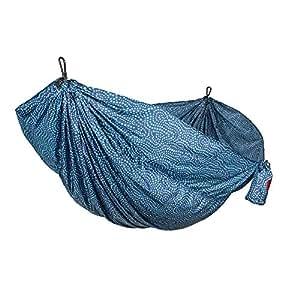 Grand Trunk Double Parachute Nylon Hammock, Batik, One Size