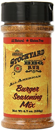 American Stockyard All American Burger Seasoning Mix, 4.7 Ou