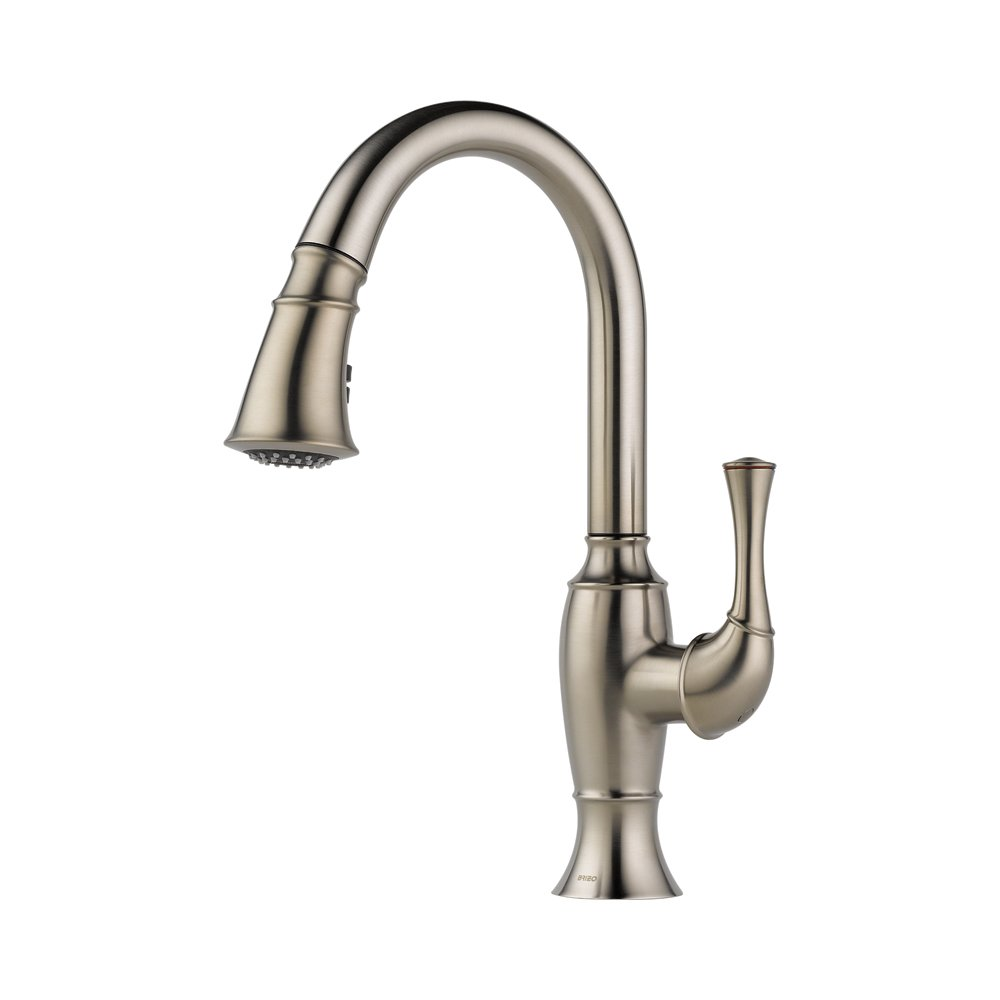 Brizo Kitchen Faucet Reviews Brizo 63003lf Ss Talo Kitchen Faucet With Pullout Spray Stainless