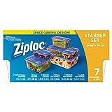 ziploc food storage - Ziploc Variety Starter Container, 7 Count