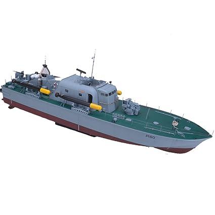 Amazon com: Arkmodel 1:32 Vosper Torpedo Boat Perkasa Warship Scale