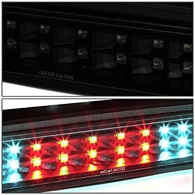 DNA Motoring 3BL-TTU07-LED-BK-SM LED 3rd Third Brake Light [for 07-18 Tundra]: Automotive