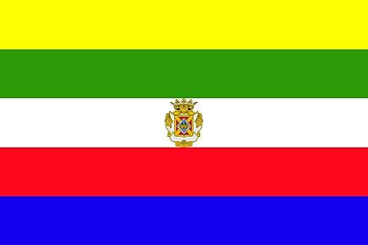 magFlags Bandera Large Linares, Andalucía España   Bandera Paisaje   1.35m²   90x150cm: Amazon.es: Jardín