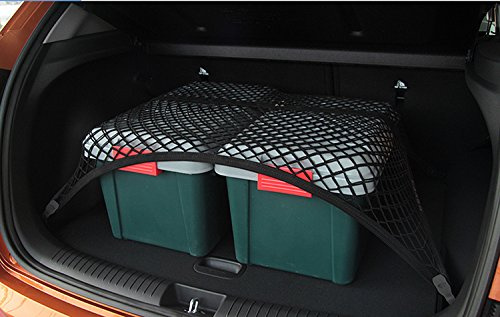 Pegasuss Black Mesh Floor Trunk Cargo Net SUV Storage Organizer Net for BMW X3