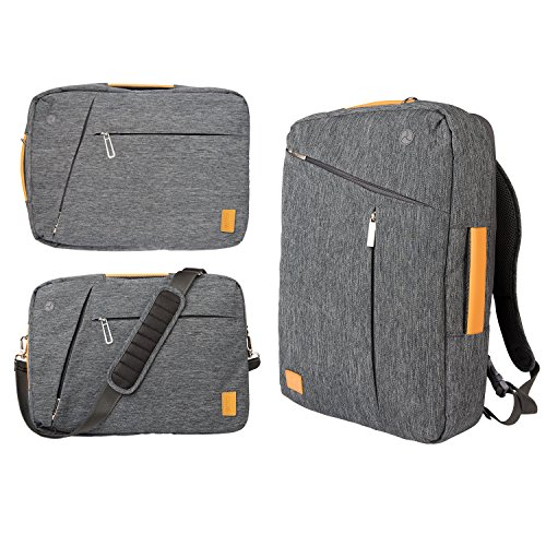 Travel Outdoor Computer Backpack Laptop bag(gray) - 8