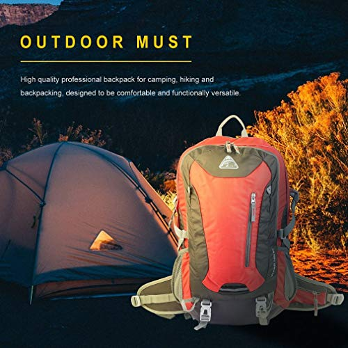 YTYC Waterproof Mountaineering Backpack Breathable Back Support Large Capacity Bag by YTYC (Image #2)