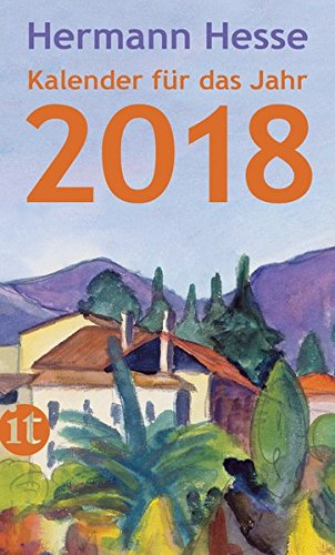 Insel-Kalender für das Jahr 2018 (insel taschenbuch)