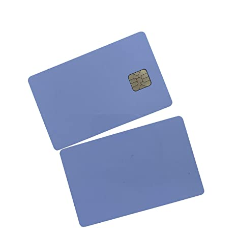 YARONGTECH Atmel 24C02 tarjeta 2K Blanco Contacto Smart Card ...
