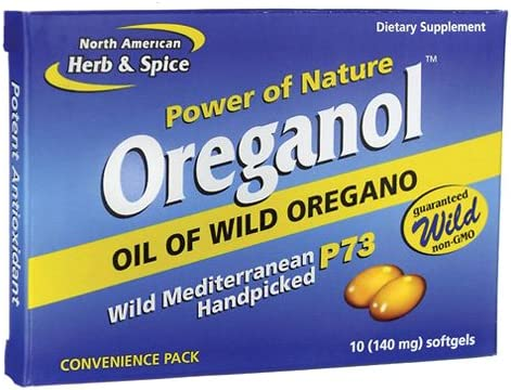 North American Herb Spice Oreganol P73, Convenience Pack, 10 Count