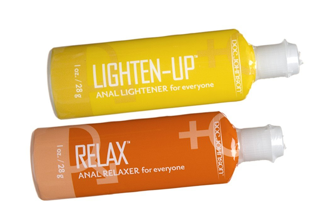 New Lighten-Up + Relax Anal Cream Lightener Everyone Perfect Pair for Anal Care A great for anal care LIGHTEN-UP Anal Lightener uses a gentle cream formula to provide an even- size ecah 1 oz