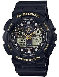 Men's Casio G-Shock Analog-Digital Black Strap Watch...