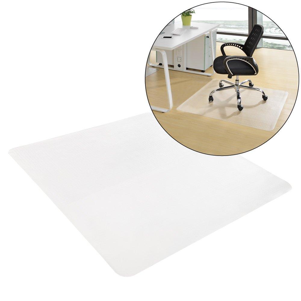 [neu.haus] Tappeto protettivo per pavimenti 90 x 90 cm Ufficio Sedia Base