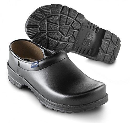 Comfort sabots et biche conclu que sans renfort en acier noir