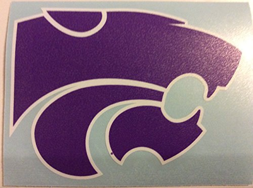 Kansas State Wildcats, Large Premium Die Cut Decal, CORN-HOLE, Made in the USA