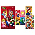 Hallmark Nintendo Valentines Day Cards For Kids Mario 32 Valentine Cards 35 Stickers 1 Teacher Card