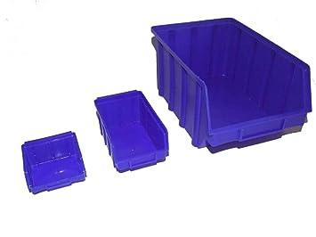 3 Grossen Im Set 60 Stapelboxen Im Paket Sichtlagerboxen Amazon De