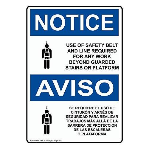 Etiqueta de vinilo con texto en inglés y símbolo de seguridad en ...