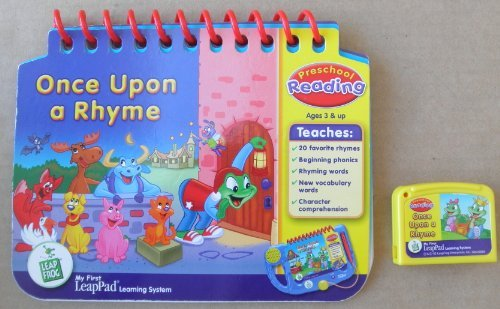 Leappad First System Learning - Leap Frog: Once Upon a Rhyme: Preschool Reading Educational Booklet and Cartridge for My First LeapPad Learning System - System NOT included