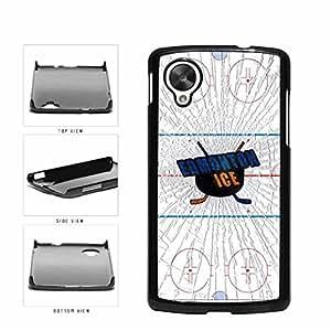 Edmonton Ice Plastic Phone Case Back Cover Nexus 5