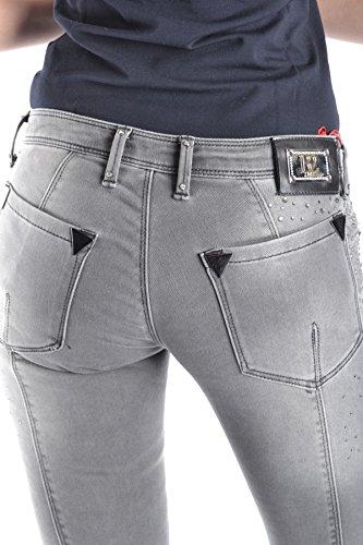 Cotone MCBI336012O Jeans Grigio Donna BALIZZA SftxXx
