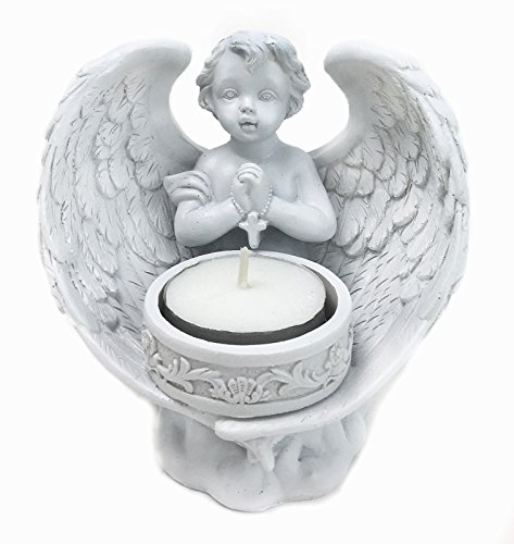 Praying Angel, Cherubs Tea Light Candleholder Decorative Gift