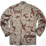 Rothco Bdu Shirt, Desert Camo, Medium